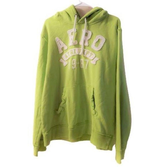 Aeropostale XL Men Sweater Lime green